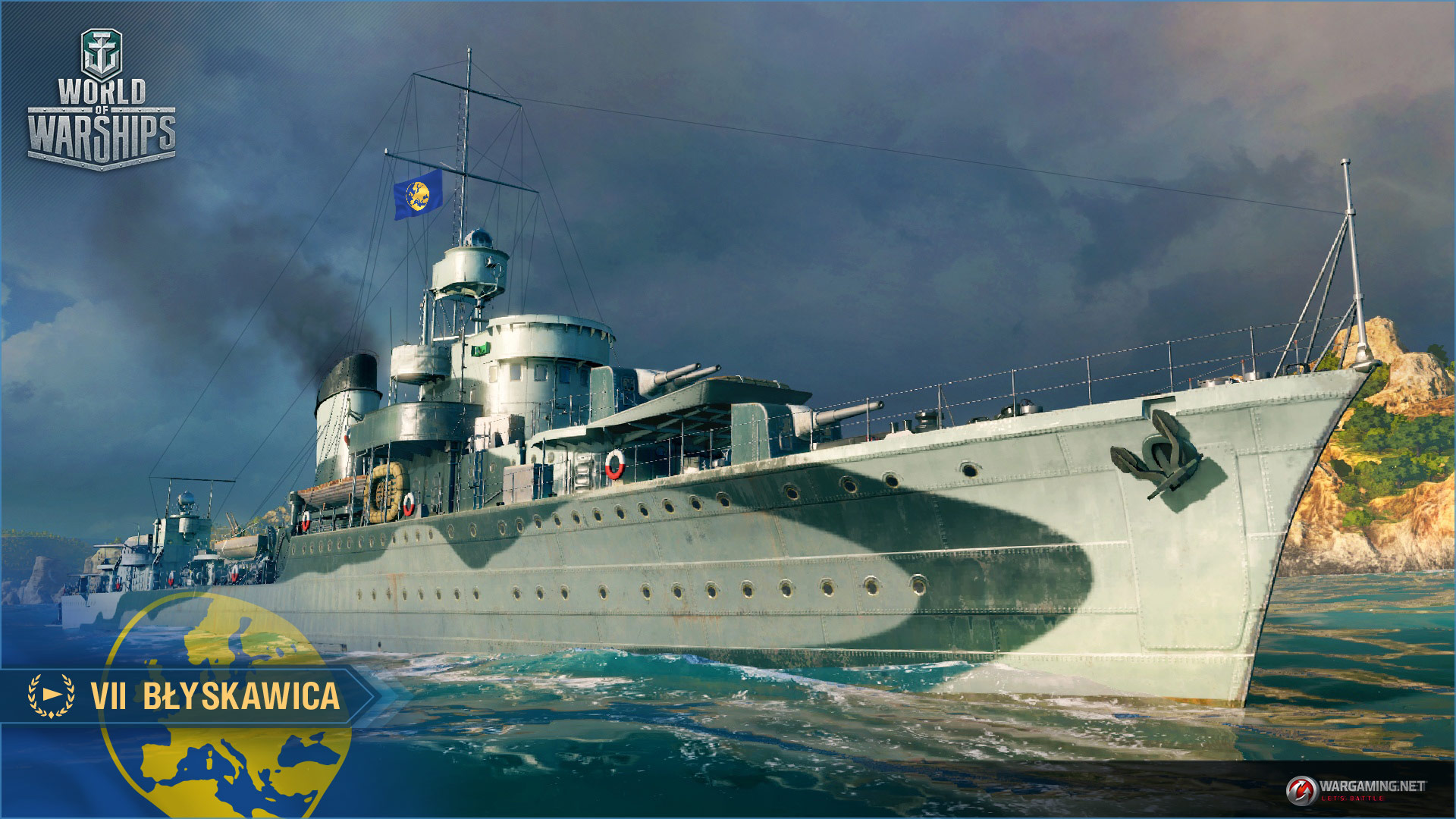 Blyskawica world of warships